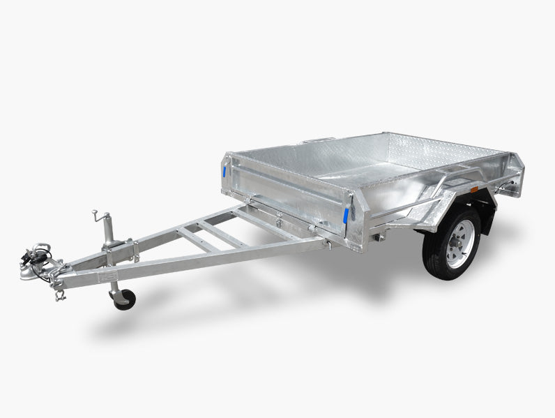 6x4 (Fully Welded) Single Axle Trailer