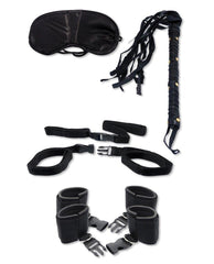Bedroom Bondage Kit-couples-Pipedream-black-Nakees