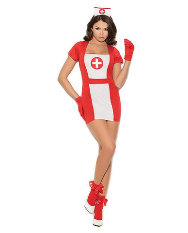 Naughty Nurse Costume-costumes-Elegant Moments-small-red/white-Nakees