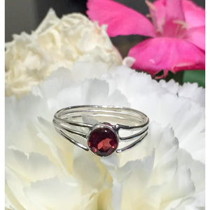 Genuine Garnet Ring