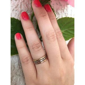 Three Stacking Ring Bands