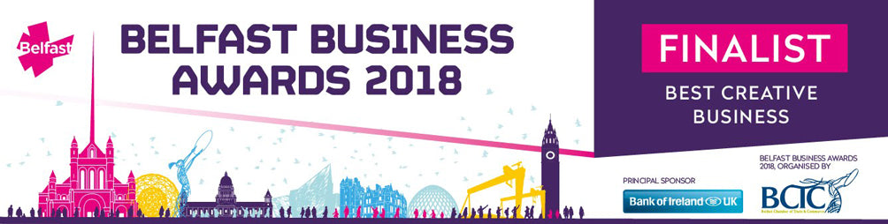 NI Silver Jewellery are finalists in the Belfast Chamber of Commerce Best Creative Business Awards 2018