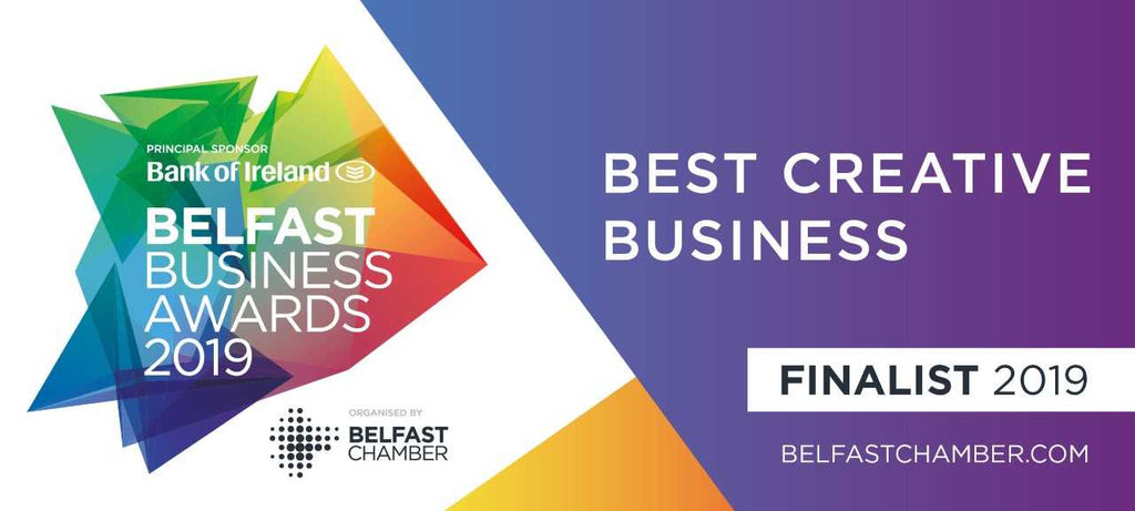 NI Silver is a finalist in the Belfast Chamber Belfast Business Awards best Creative Business 2019.