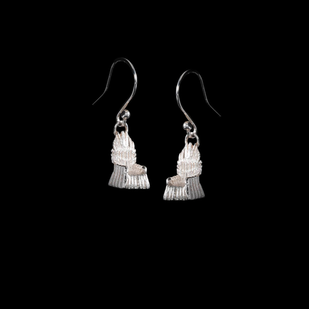NI Throne Silver Earrings are unique and made out of solid sterling 925 silver.