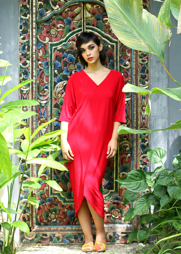 Marga in Pomegranate Red