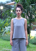 Padma in Pigeon Gray