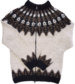 Your Custom Made Wool Sweater - with Zipper