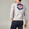 MEN'S LONG SLEEVE SWEATER WITH CLASSIC LOGO
