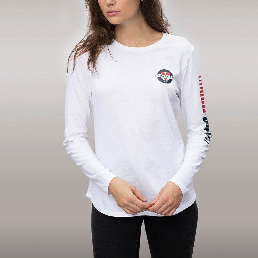 WOMEN'S TEE WITH CLASSIC LOGO