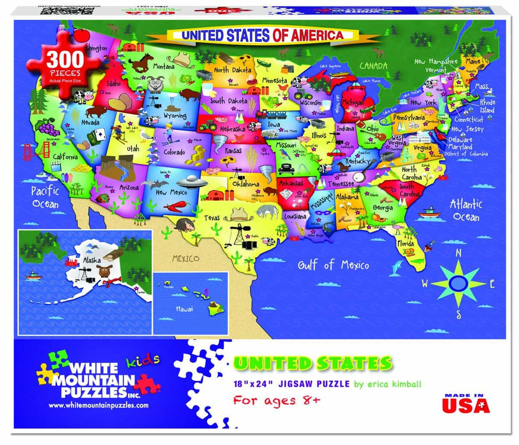 United States of America - 300 Pieces