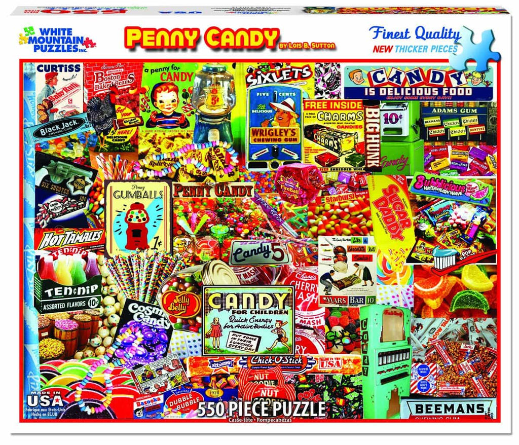 Penny Candy - 550 Pieces - DISC