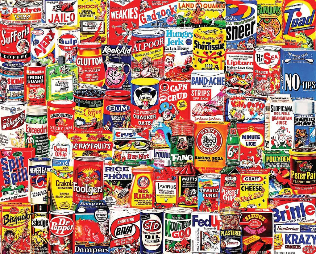 Wacky Packages - 1000 Pieces