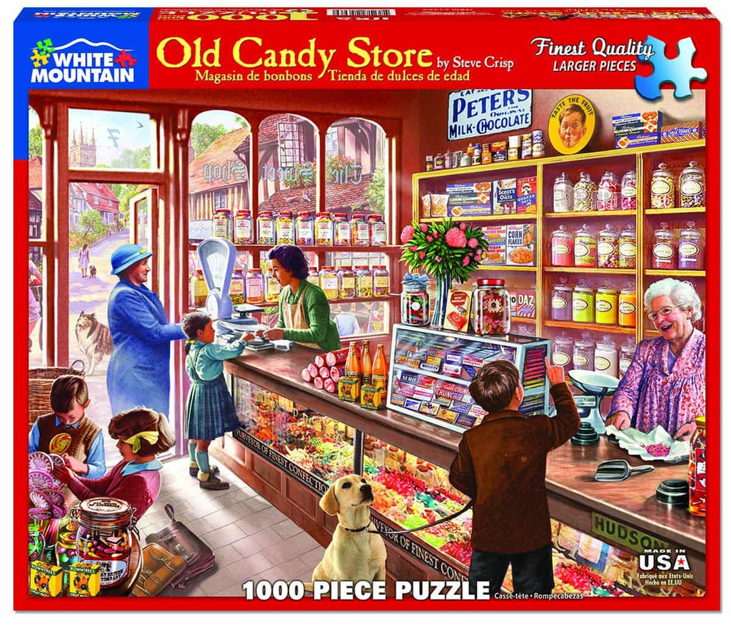 Old Candy Store - 1000 Pieces
