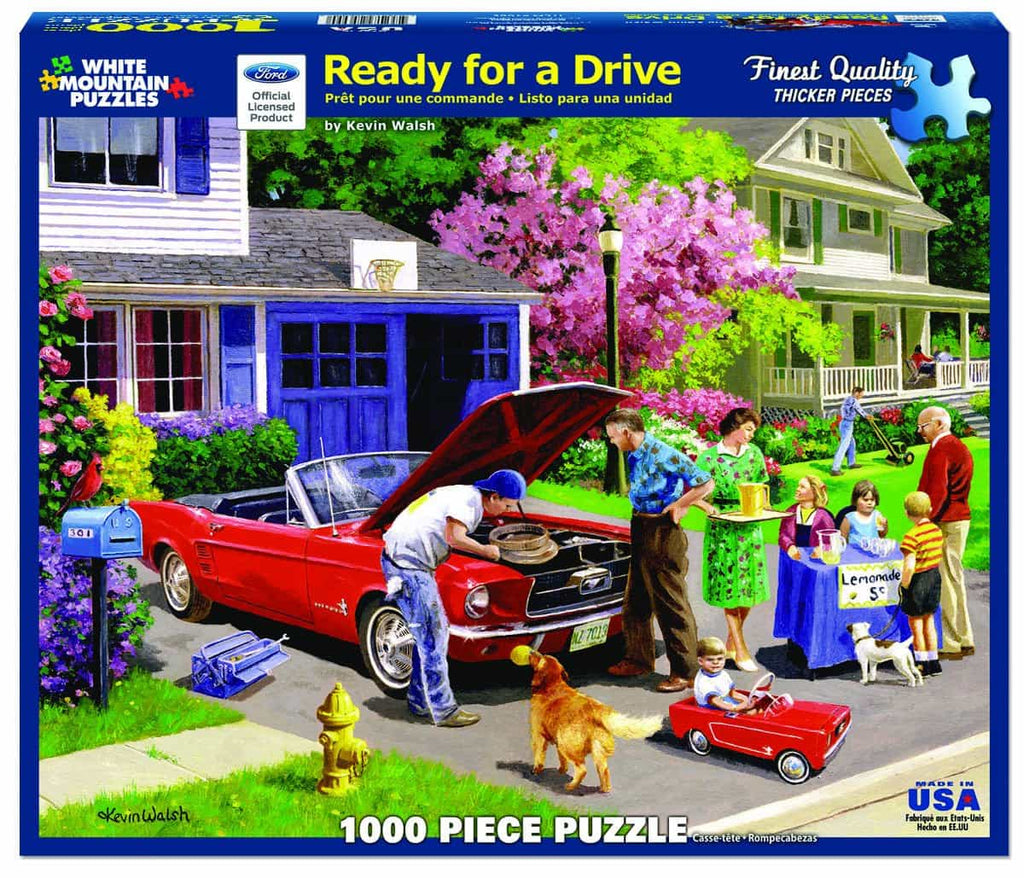 Ready For A Drive - 1000 Pieces