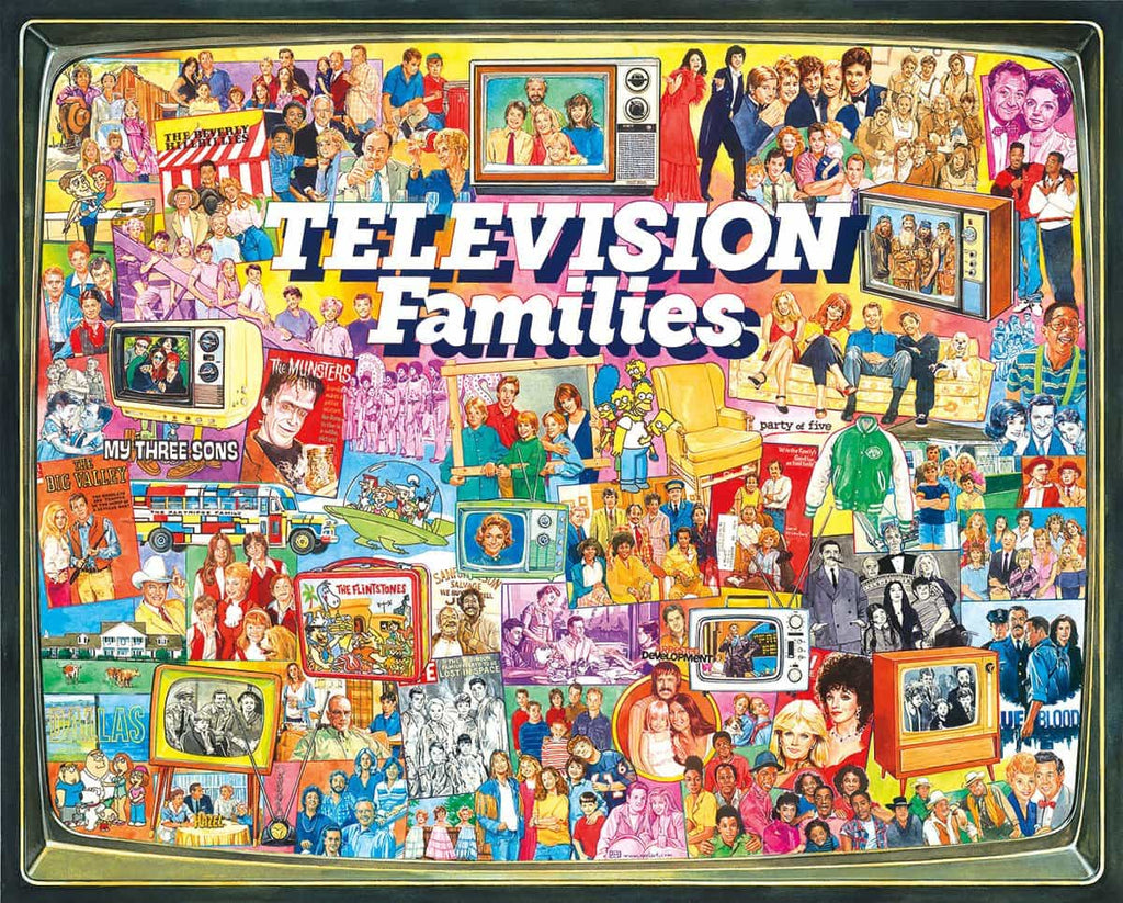 TV Families - 1000 Pieces