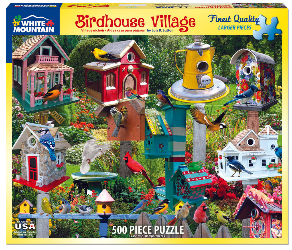 Birdhouse Village - 550 Pieces