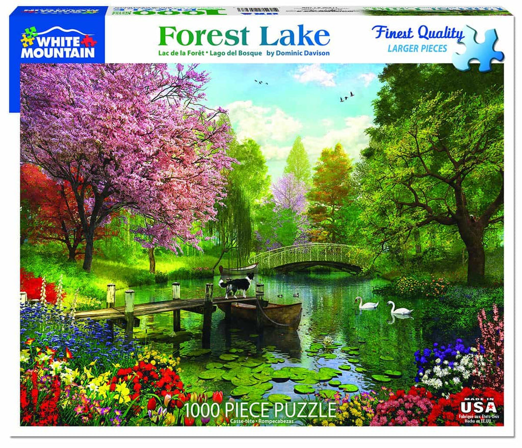 Forest Lake - 1000 Pieces