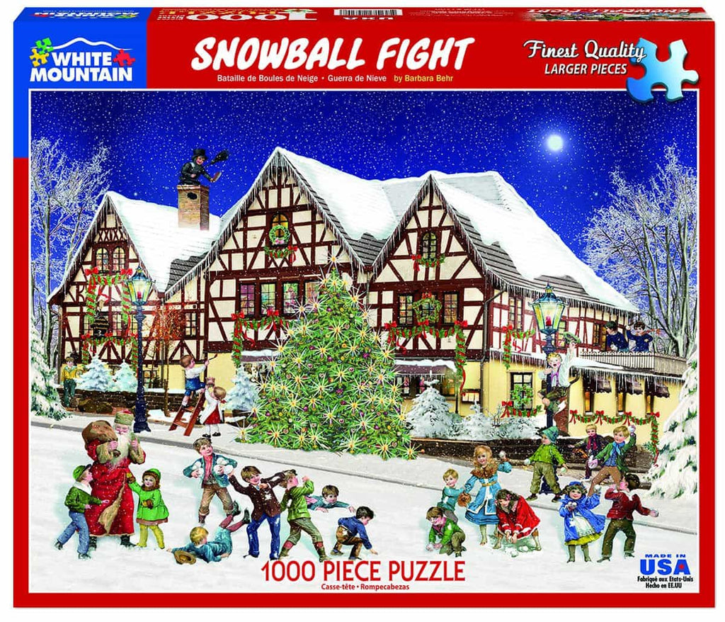 Snowball Fight - 1000 Pieces - DISC
