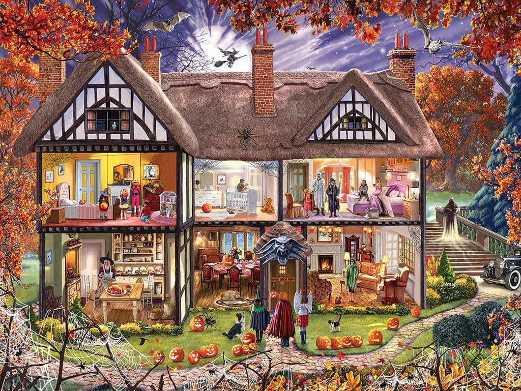 Halloween House - 1000 Pieces