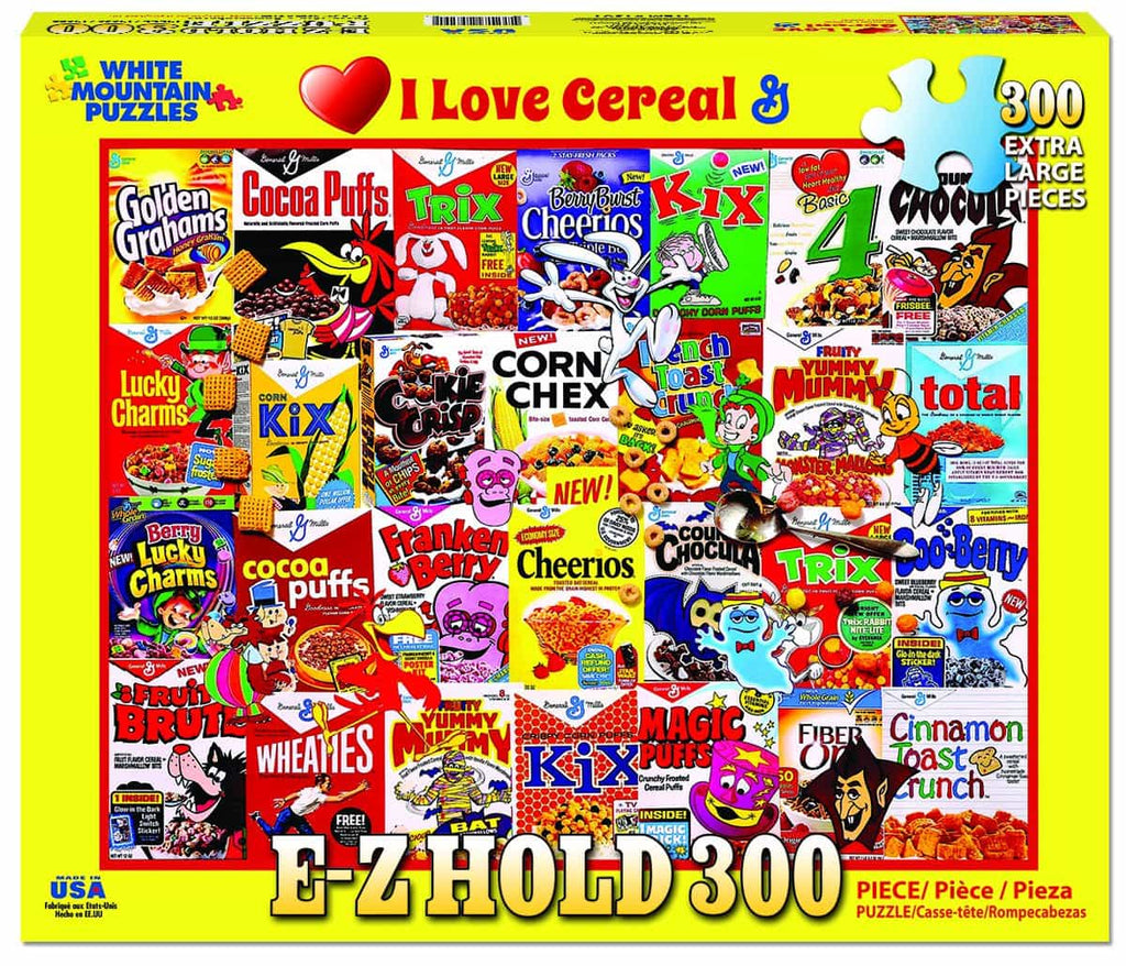 I Love Cereal - 300 Pieces