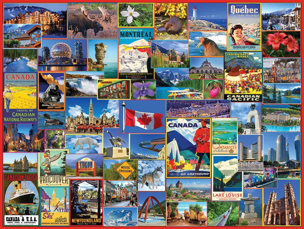 Best Places in Canada - 1000 Pieces
