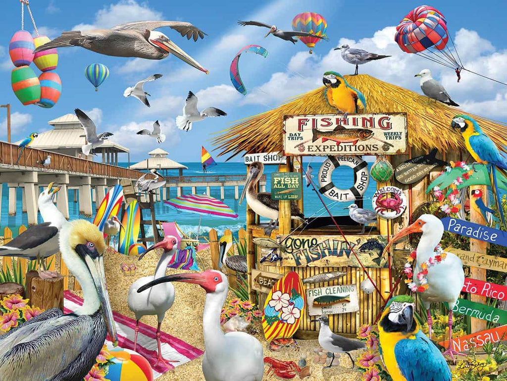 Pelican Paradise - 1000 Pieces - DISC
