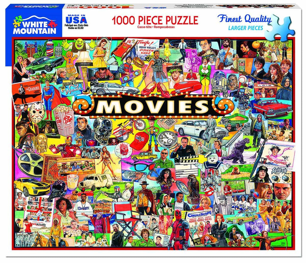 The Movies - 1000 Pieces