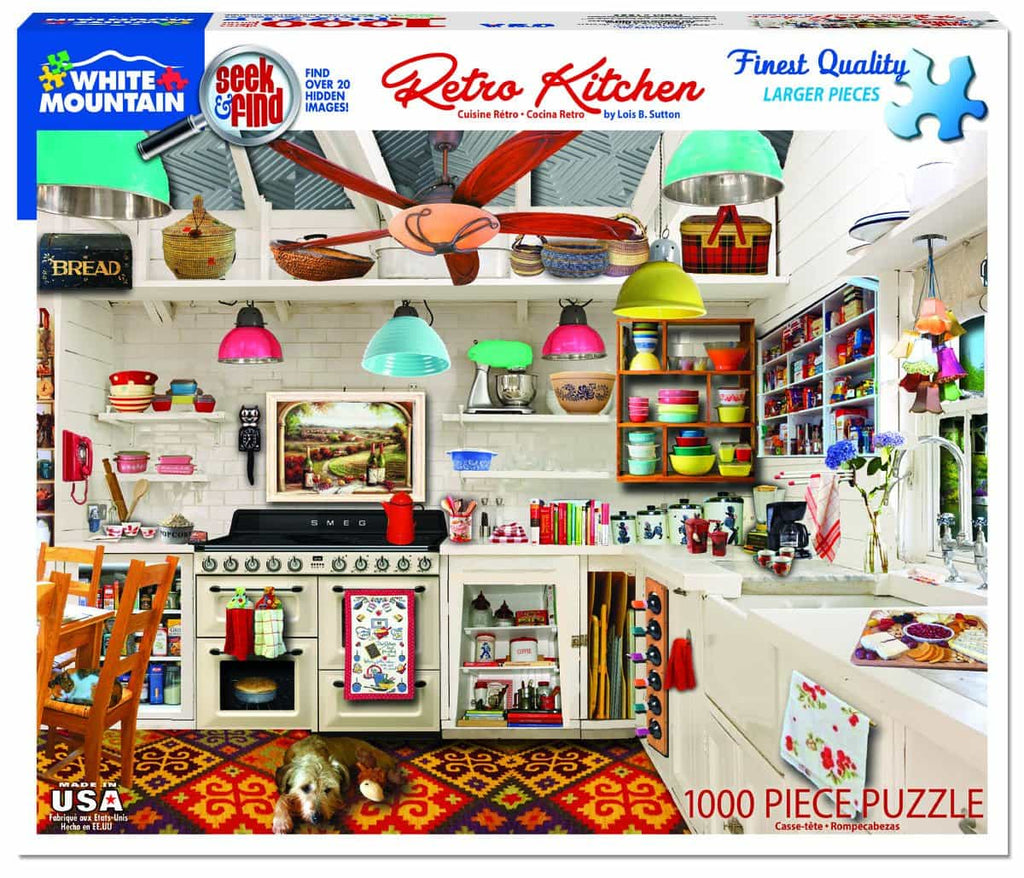 Retro Kitchen Seek & Find  - 1000 Pieces