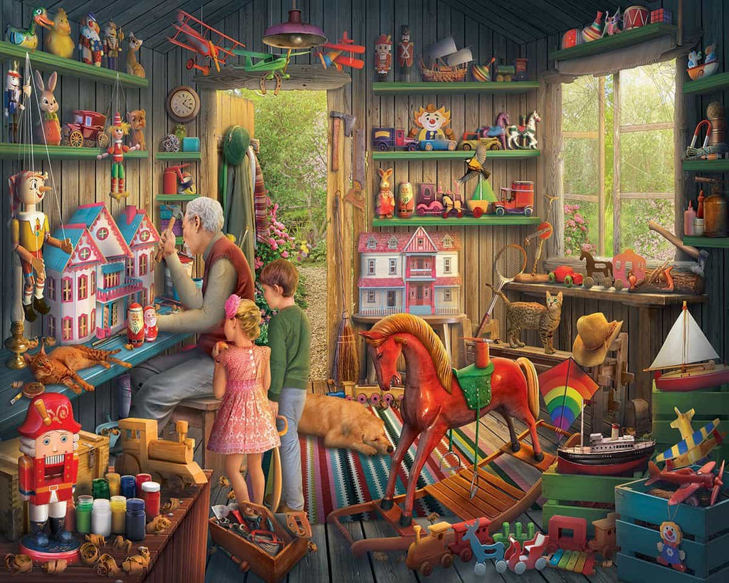 The Toy Shed - 1000 Pieces - DISC