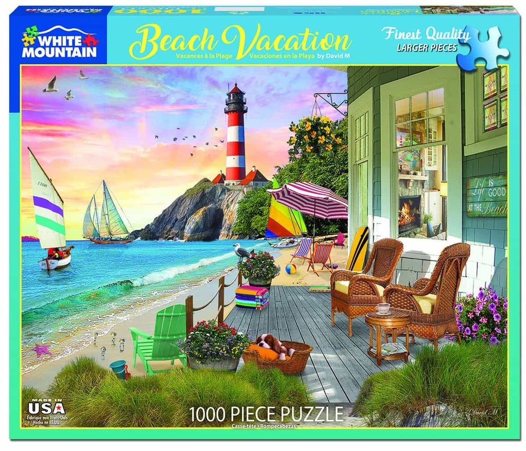 Beach Vacation - 1000 Pieces