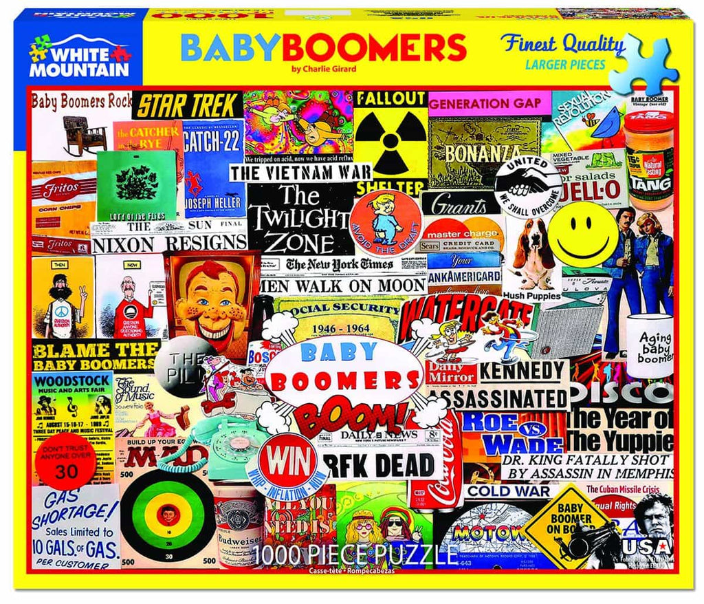 Baby Boomer - 1000 Pieces