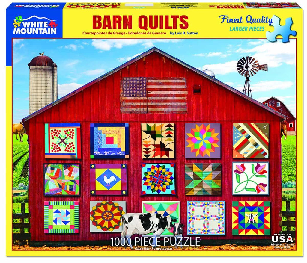 Barn Quilts - 1000 Pieces