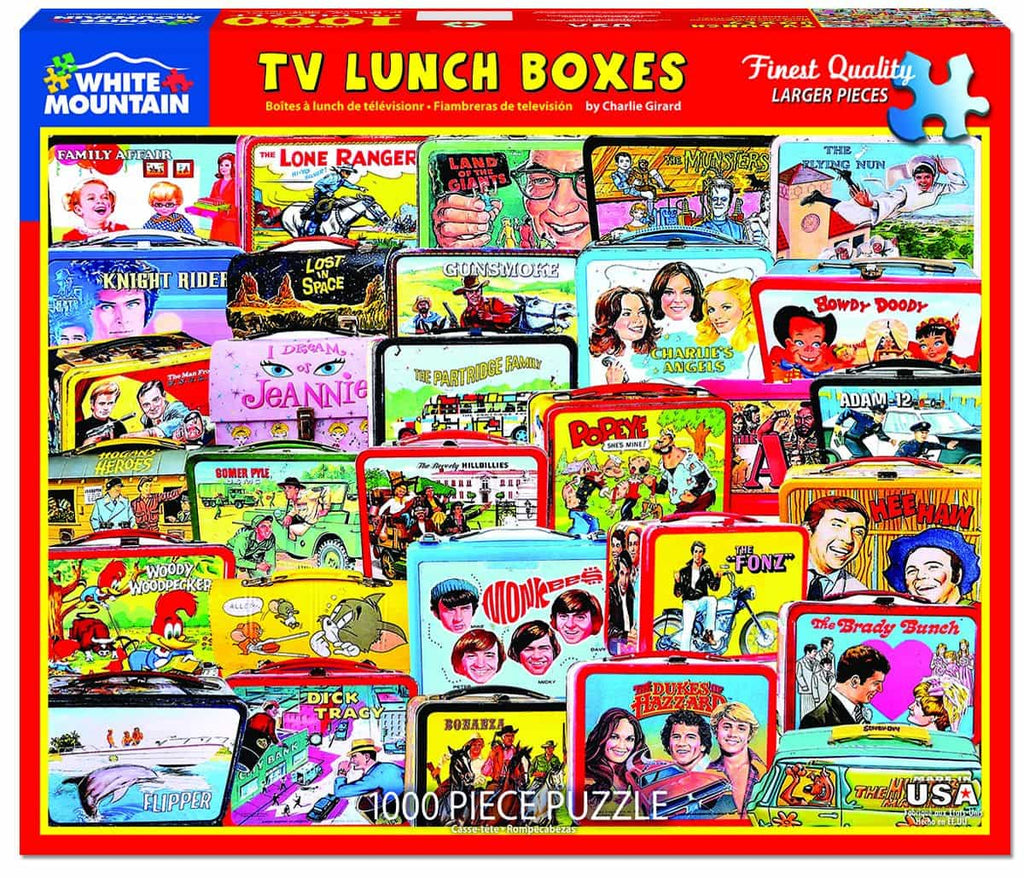 TV Lunch Boxes - 1000 Pieces