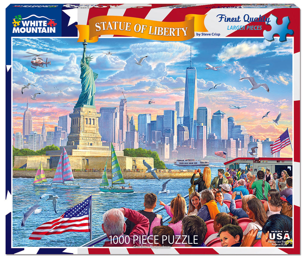 Statue of Liberty - 1000 Piece Puzzle