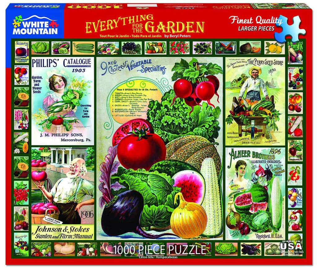 Everything for the Garden - 1000 Piece Puzzle