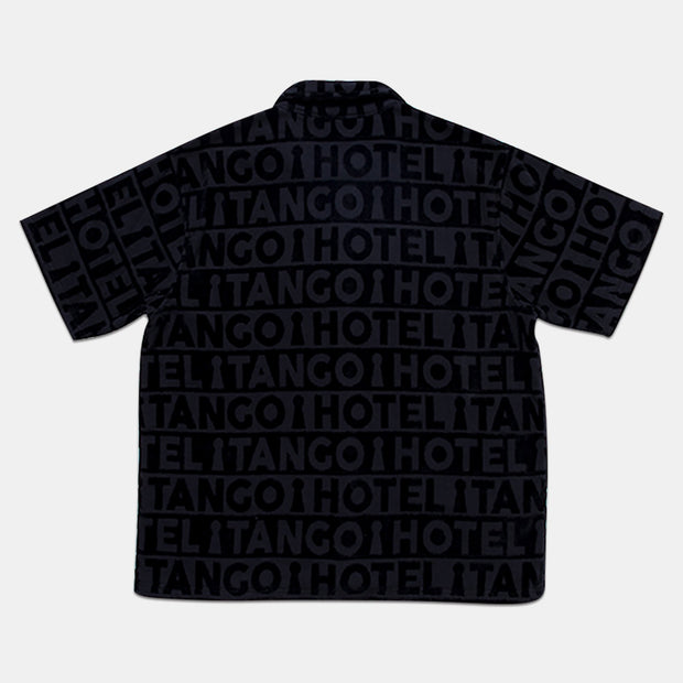 Tango Black Poolside Terry Shirt Back View