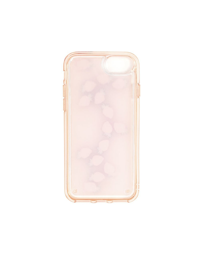 Floating Icons iPhone Case - Strawberry