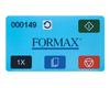 Image of Formax FD 346 Touchscreen Desktop Office Folder Armadillo Safe and Vault