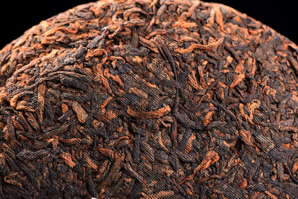 "2018 Yunnan Sourcing ""Warm Fuzzies"" Ripe Pu-erh Tea Cake"