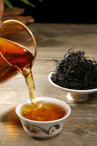 Feng Qing Ye Sheng Hong Cha Wild Tree Purple Black Tea