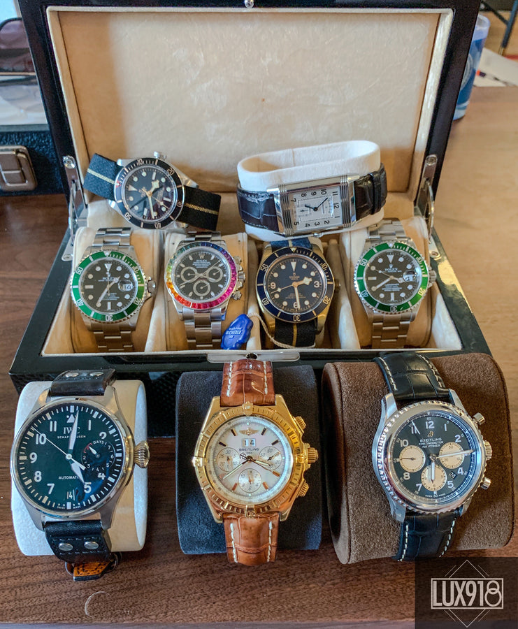 Pre-Owned Luxury Watches from Rolex, Cartier, Breitling, Panerai, Tudor, etc.