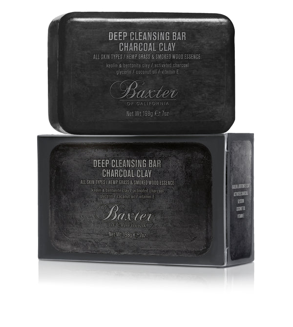 Deep Cleansing Bar, Charcoal Clay 7oz
