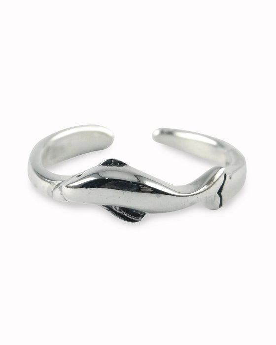 Adjustable Toe Ring | Dolphin