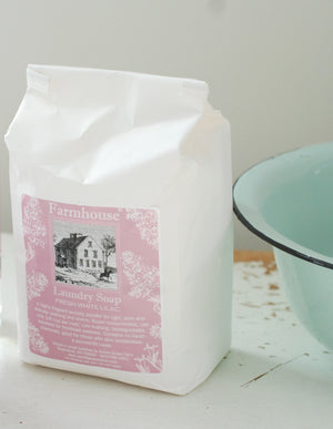 Farmhouse Laundry Powder by Sweet Grass Farm