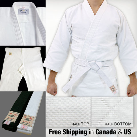 Single Layered Gi + Standard Pants + Obi Set