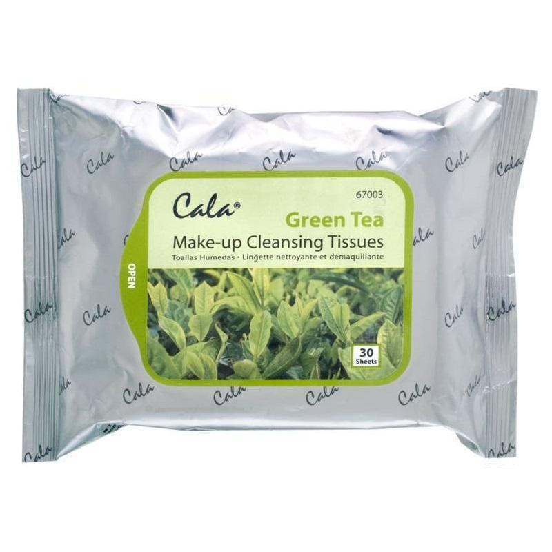 Cala Green Tea Makeup Cleansing Tissues