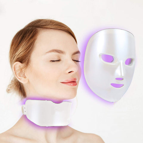 Image of 7 Colors LED Facial Mask - Your At-home Skin Photon Therapy