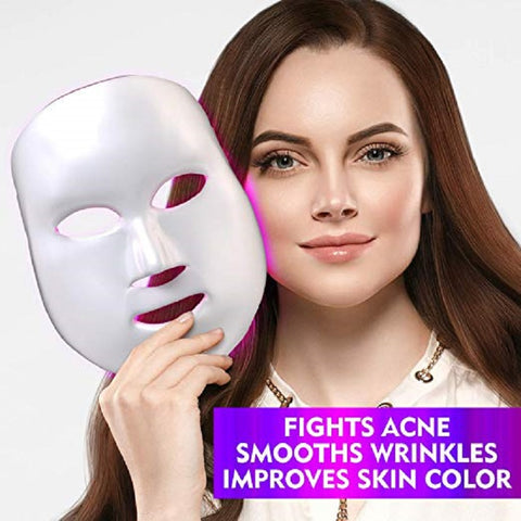7 Colors LED Facial Mask - Your At-home Skin Photon Therapy