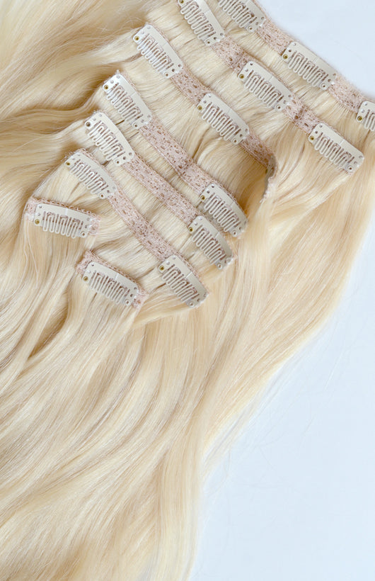 Clip-In Hair Extensions-All Lengths and Colors