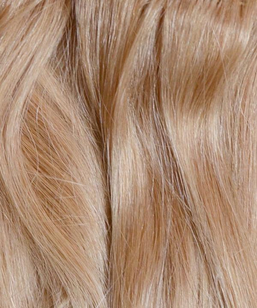 Dirty Blonde Clip-In Hair Extensions- 20 inches / 200 gram full head set of 100% Remy clip-in human hair extensions
